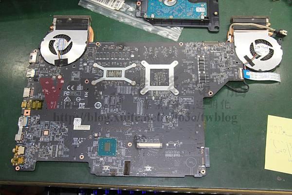 MSI GL62 7RD 主機板