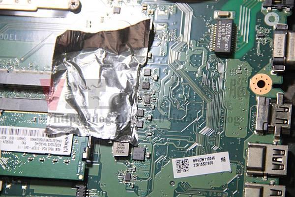 ACER E5-575G 更換待機供電管理IC