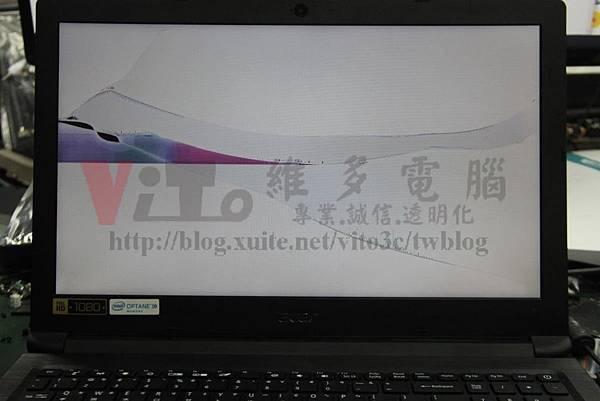 ACER A315-53G-56P8 LCD面板破裂