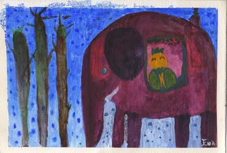 淡彩變濃彩的大象s.jpg