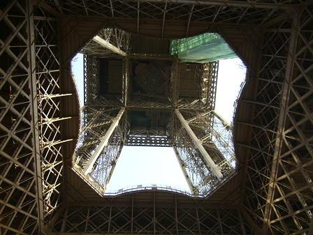 A kaleidoscopic view of the Eiffel Tower..JPG