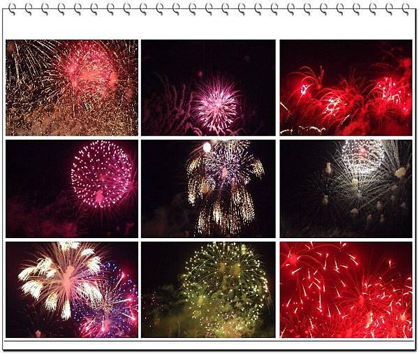20150604拍攝於澎湖花火節拼貼圖001