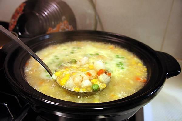 蟹肉玉米湯