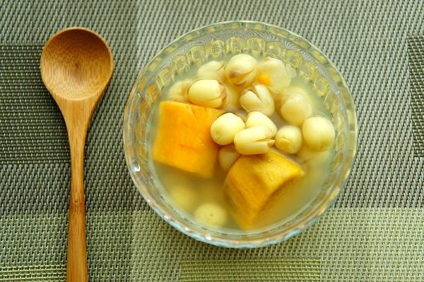 地瓜蓮子湯