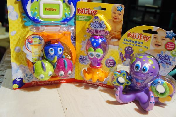 NUBY洗澡玩具