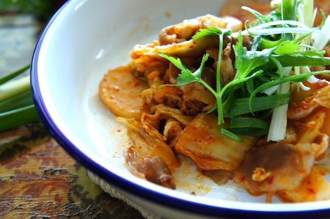 韓國泡菜炒年糕