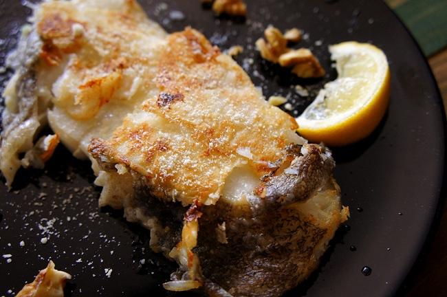 香煎檸檬起士鱈魚排