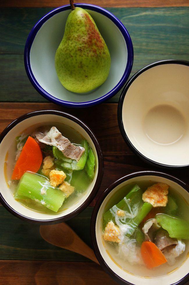鹹蛋卦菜湯