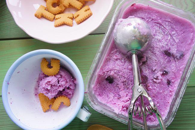 藍莓優格冰沙