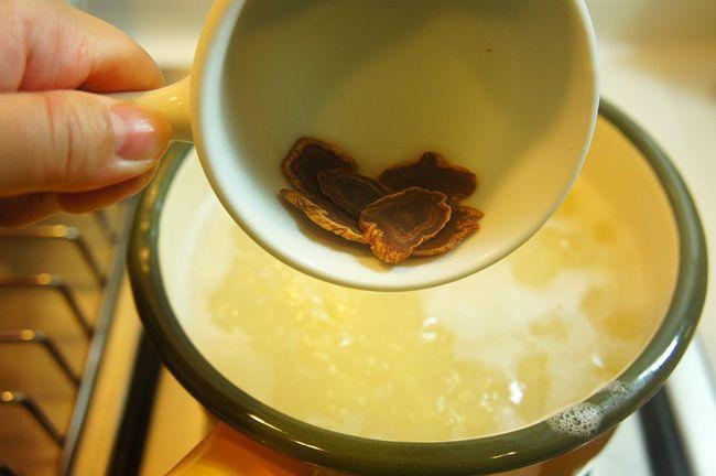 高麗蔘櫻桃小米粥