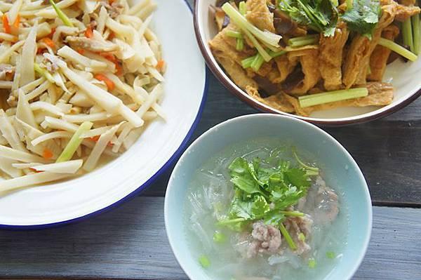 綠竹筍炒肉絲