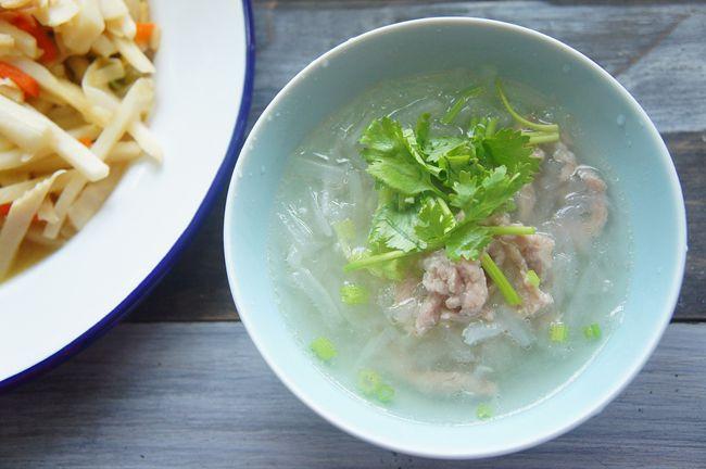 白蘿蔔肉羹湯