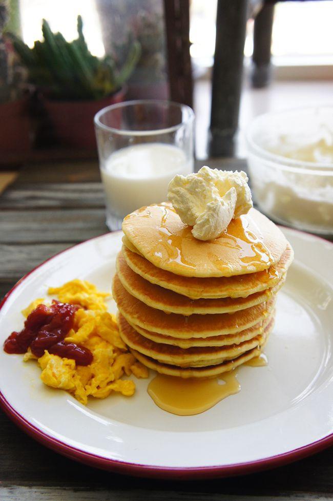 美式鬆餅大早餐