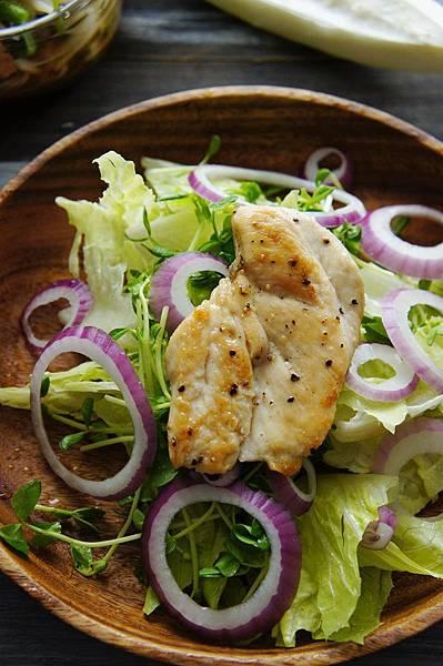 烤雞肉沙拉