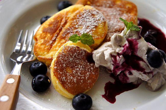 藍莓舒芙蕾鬆餅