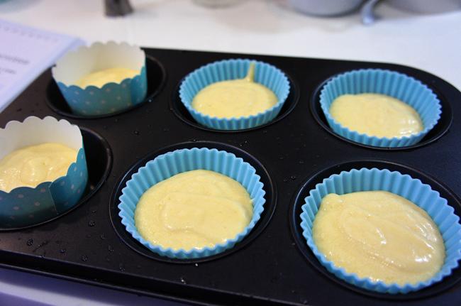 唐娜海香草杯子蛋糕