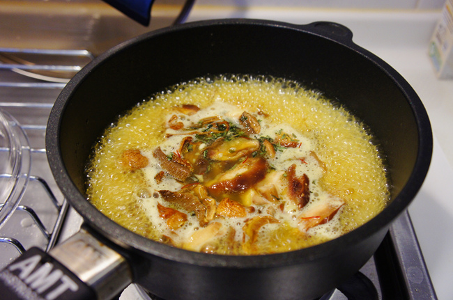 野菇起士燉飯