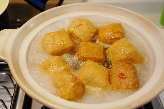 油豆腐鑲肉細粉