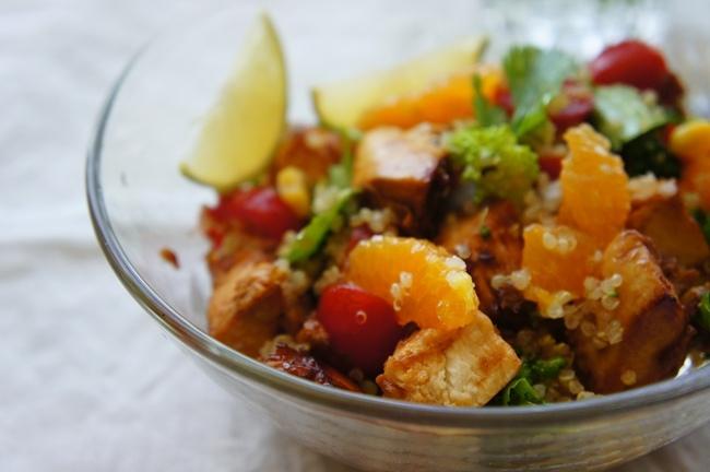 藜麥雞肉沙拉