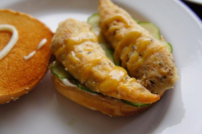 香草雞柳條漢堡