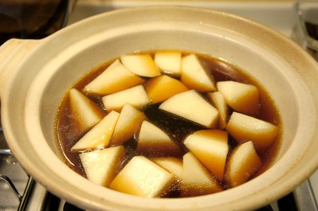 金銀蘿蔔燉牛筋
