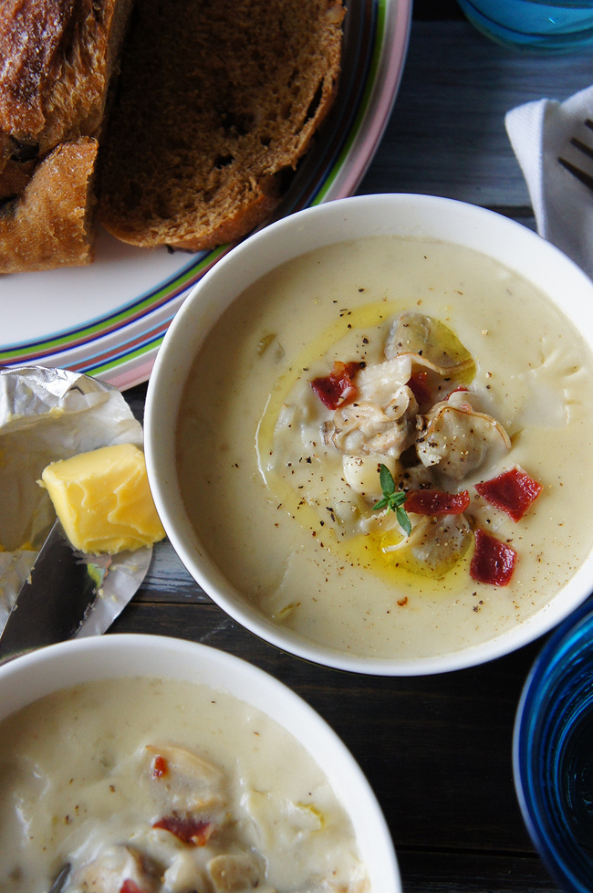 新英格蘭蛤蜊濃湯