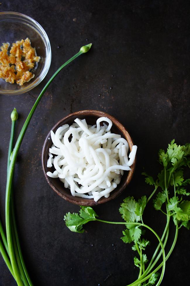 韭香米苔目