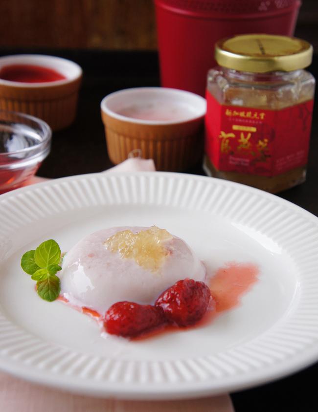 琉元堂草莓燕窩奶酪