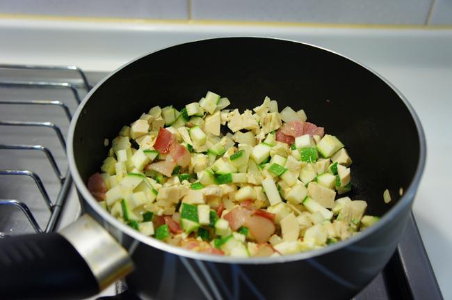 節瓜雞肉釀大貝殼麵