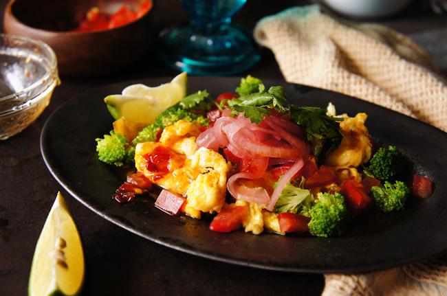 泰式涼拌炒雞蛋