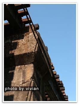 火車走的路橋&天空