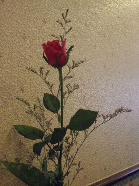 桌上的真花.JPG
