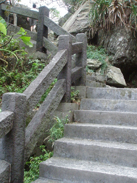濱海-北關海潮公園-爬石階20081011.JPG