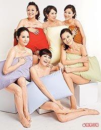 金友莊(前排左起)、Vicky、陳維齡、秀琴(後排左起)、洪百榕及熊家婕.jpg