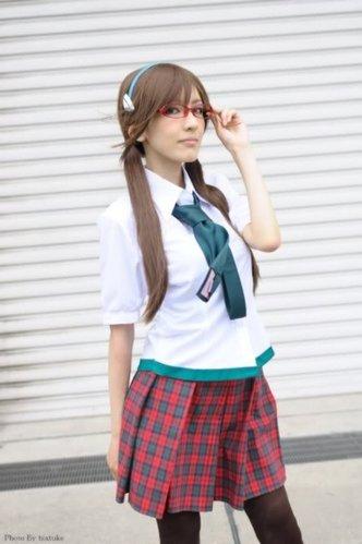EVA劇場版眼鏡娘真希波COSPLAY-01.jpg