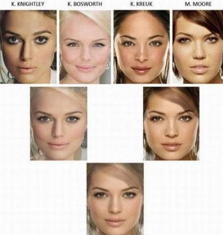 16女星合成之終極美人 地球上最漂亮的臉蛋03.jpg