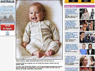 微笑胎兒-約瑟夫笑著面對鏡頭,真是個上相的乖孩子.JPG