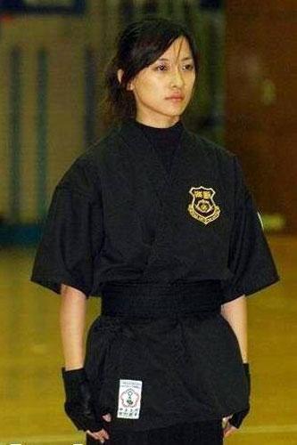 馬英九的美女保鏢林姿妤有清秀外表和矯健身手.jpg