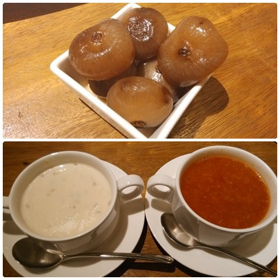 1030916-6PIZZERIA OGGI餐前湯及小洋蔥.jpg
