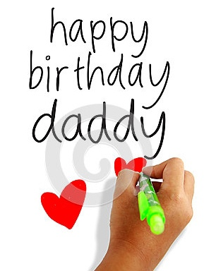 happy-birthday-daddy-girls-hand-holding-pen-writing-dad-greeting-card-31750349