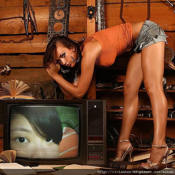 媽~我上電視囉!