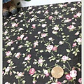 日本棉布 黑底小花系列