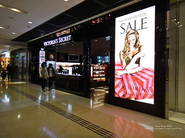 香港站IFC mall- Victoria Secrect