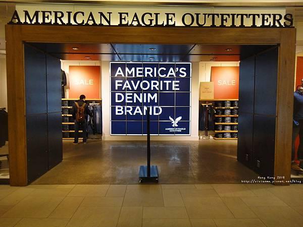 尖沙咀站-美麗華 American Eagle