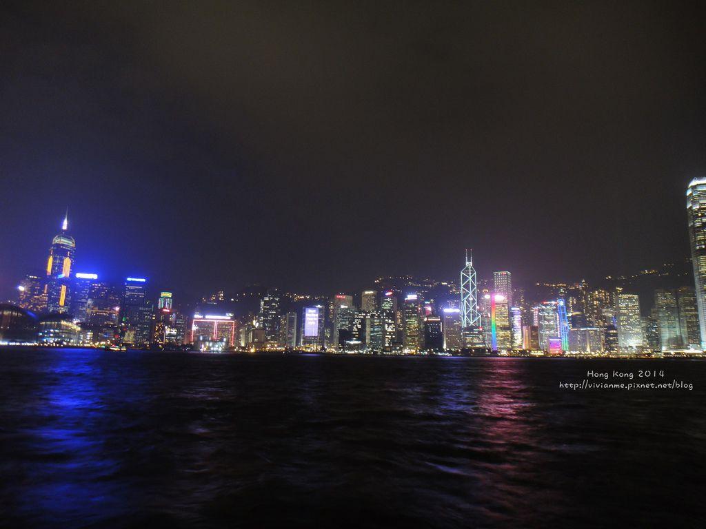 維多利亞港夜景