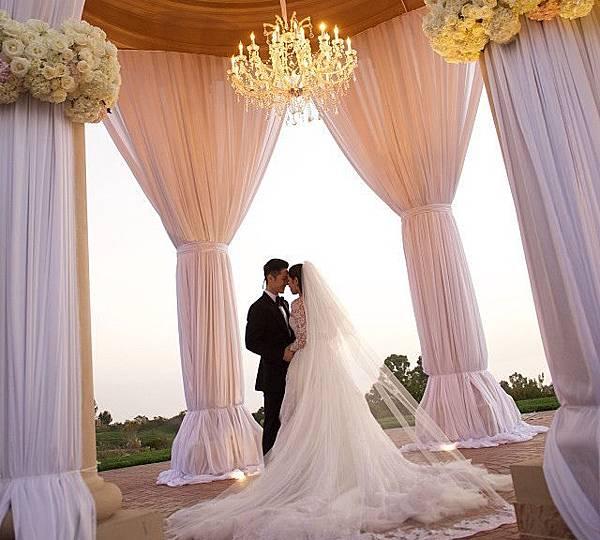 Vanness X Arissa wedding at LA
