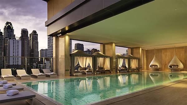 曼谷東方公寓泳池
