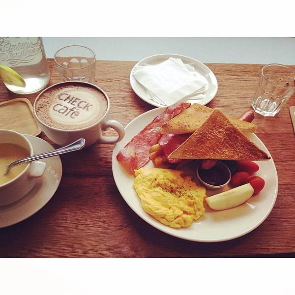 Check cafe 雀客咖啡