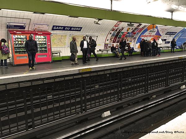 巴黎北站地鐵