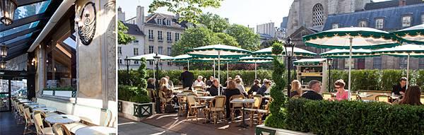 雙叟咖啡館 圖片來自官網http://menuonline.fr/deux-magots